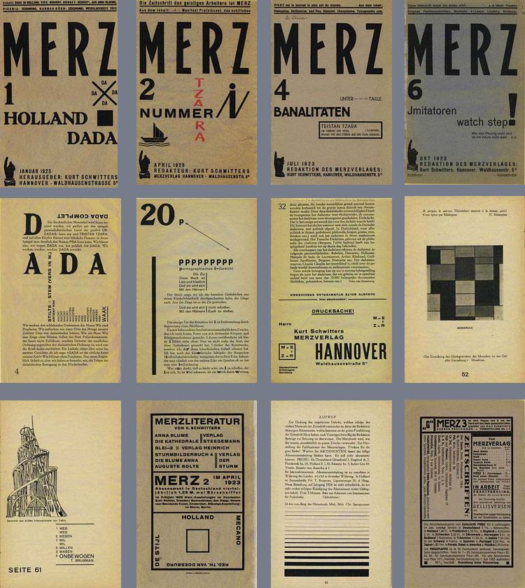 Merz: Dada And Dadaism : Kurt Schwitters